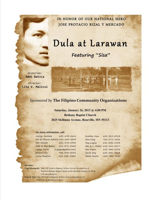 Dula at Larawan 2013